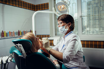 В стоматологическом кабинете